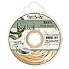 Rattail Cord 3mm 10 Yds With Re-useable Bobbin Ivory